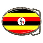 Uganda Flag Belt Buckle