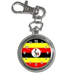 Uganda Flag Key Chain Watch