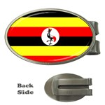 Uganda Flag Money Clip (Oval)