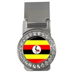 Uganda Flag Money Clip (CZ)