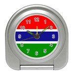 Gambia Flag Travel Alarm Clock