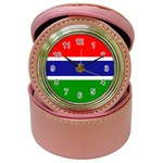Gambia Flag Jewelry Case Clock