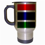 Gambia Flag Travel Mug (Silver Gray)