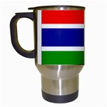 Gambia Flag Travel Mug (White)