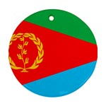 Eritrea Flag Ornament (Round)