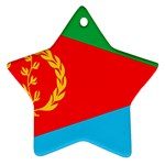 Eritrea Flag Ornament (Star)