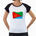 Eritrea Flag Women s Cap Sleeve T