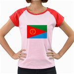 Eritrea Flag Women s Cap Sleeve T-Shirt