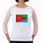 Eritrea Flag Girly Raglan