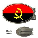 Angola Flag Money Clip (Oval)