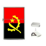 Angola Flag Flip Top Lighter