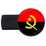 Angola Flag USB Flash Drive Round (2 GB)