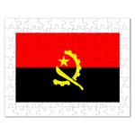 Angola Flag Jigsaw Puzzle (Rectangular)
