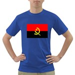 Angola Flag Dark T-Shirt