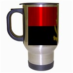Angola Flag Travel Mug (Silver Gray)