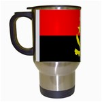 Angola Flag Travel Mug (White)