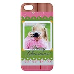 merry christmas - iPhone 5 Premium Hardshell Case