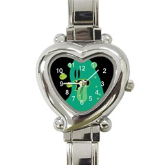 Monster Heart Italian Charm Watch  by Contest1771913