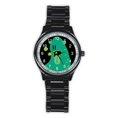 Monster Sport Metal Watch (black) by Contest1771913