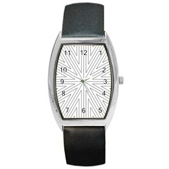 Explosion Tonneau Leather Watch