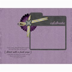 2015 Calender Elegance By Shelly   Wall Calendar 11  X 8 5  (12 Months)   76vue8f1no4m   Www Artscow Com Month