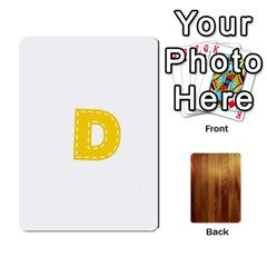 Study Card By Divad Brown   Playing Cards 54 Designs   Bs21use55g9l   Www Artscow Com Front - Club4