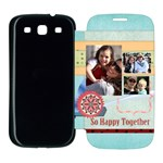 family - Samsung Galaxy S3 Flip Cover Case