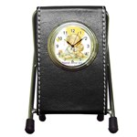 bestfriend Pen Holder Desk Clock