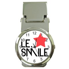Le. Smile Money Clip with Watch