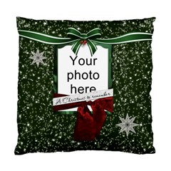 Christmas To Remember Cushion Case (2 Sides) By Lil    Standard Cushion Case (two Sides)   Goor7hdyvaex   Www Artscow Com Back