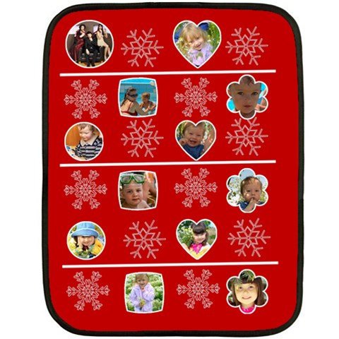 Merry Christmas By Divad Brown   Fleece Blanket (mini)   W7hkkk7dgxjf   Www Artscow Com 35 x27 Blanket