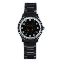 Fireworks Sport Metal Watch (Black) by Contest1762364
