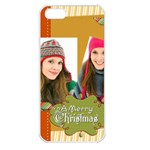 merry christmas - Apple iPhone 5S Seamless Case (White)