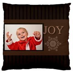 Merry Christmas By Man   Large Cushion Case (two Sides)   Yn7vmzfojl8a   Www Artscow Com Back