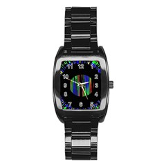 Black Chill O Stainless Steel Barrel Watch by Contest1794328