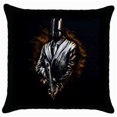 Musicmafia Throw Pillow Case (black)