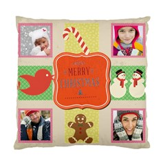 Merry Christamas By Merry Christmas   Standard Cushion Case (two Sides)   91dl4tctig8m   Www Artscow Com Back