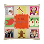 merry christamas - Cushion Case (One Side)