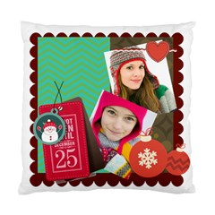 Merry Christamas By Merry Christmas   Standard Cushion Case (two Sides)   V68fu7873aqx   Www Artscow Com Front