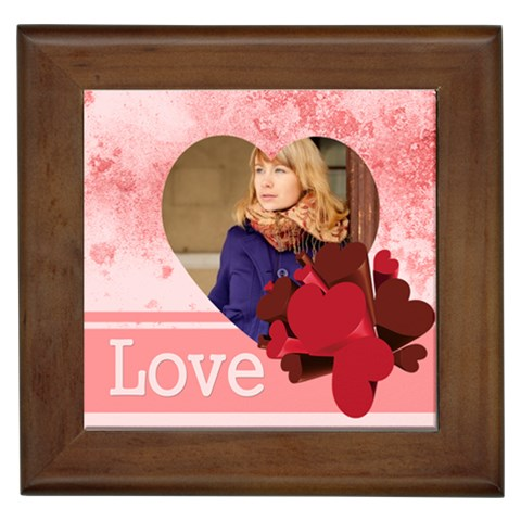 Love By Anita   Framed Tile   O9okiep2hz4u   Www Artscow Com Front