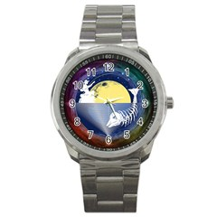 Fishing Dead Sport Metal Watch by Contest1763580