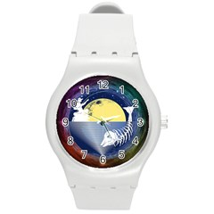 Fishing Dead Plastic Sport Watch (medium) by Contest1763580