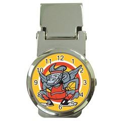 Flying Monkey Money Clip With Watch
