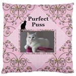 Perfect Puss Large Cushion Case (2 sided) - Large Cushion Case (Two Sides)