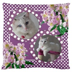 Happy Days Large Cushion Case (2 Sided) By Deborah   Large Cushion Case (two Sides)   16zsf2x4t2ii   Www Artscow Com Front