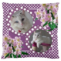 Happy Days Large Cushion Case (2 Sided) By Deborah   Large Cushion Case (two Sides)   16zsf2x4t2ii   Www Artscow Com Back