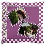 Our Memories Large Cushion Case (2 sided) - Large Cushion Case (Two Sides)