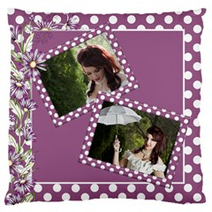 Our Memories Large Cushion Case (2 Sided) By Deborah   Large Cushion Case (two Sides)   Dot2tf52krxh   Www Artscow Com Back