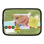 merry christmas - Netbook Case (Medium)