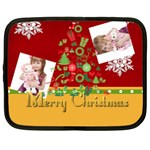 merrry christmas - Netbook Case (Large)